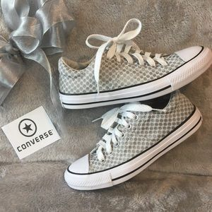 Like New Sparkle Dot Converse